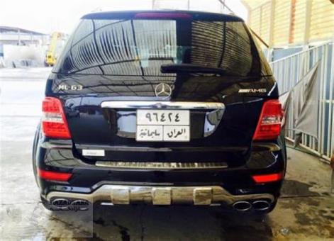 Mercedes benz ML 6.3 AMG