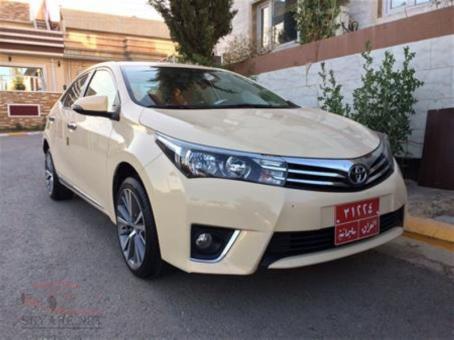 Toyota Corolla 2014 Taxi