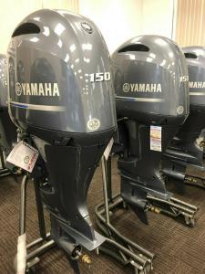 Used Yamaha 150HP 4-Stroke Outboard Motor Engine